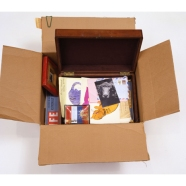 A Time Capsule from Warhol; Every month he filled one box.